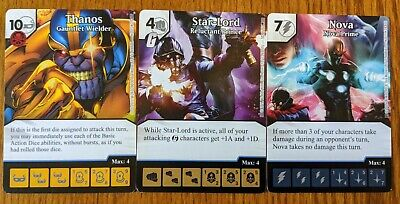 Star-Lord Nova Dice Masters Thanos Imperative Monthly Op Kit Thanos