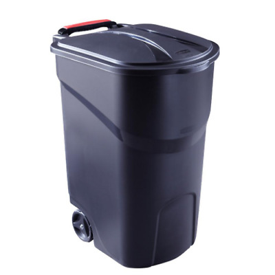 Rubbermaid 45 Gallon Trash Can With Lid, Rubbermaid Outdoor Trash Can With Lid