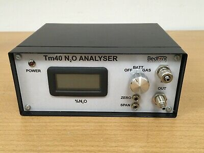 BEDFONT TM 40 Laboratory Analyzer %N2O Digital Gas Quality Analyser