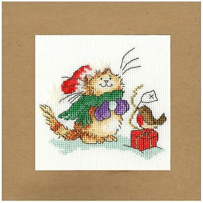 Spice And All Things Mice Cross Stitch Kit by Bothy Threa Hannah Dale Pumpkin