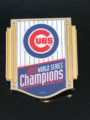 Vintage Collectible Chicago Cubs 2016 World Series Colorful Metal Pinback