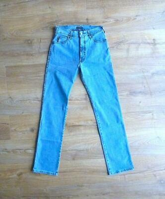 """NOS VINTAGE ARMANI JEANS J31 BLUE DENIM JEANS SIZE 30"""" MADE IN ITALY RARE 1990's"""