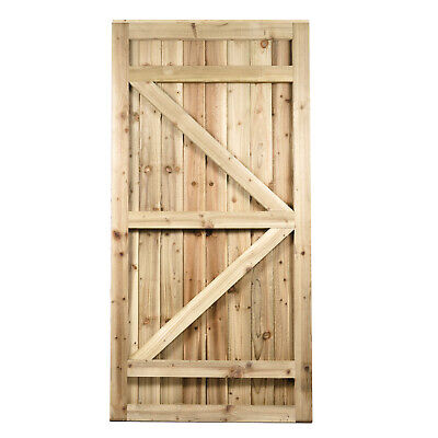 "Approx 8/'x8/""x8/"" 2.4mx200mmx200mm Tanalised Timber Gate Post"