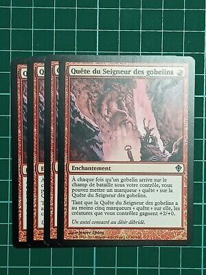 4x Quest for the Goblin LordWorldwakeMTG Magic The Gathering Cards