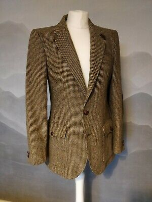 Vintage Austin Reed Hacking Tweed Jacket Hand Tailored In South Africa Rare 14 00 Picclick Uk