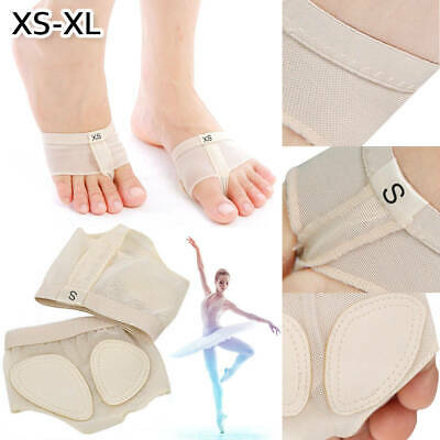 Belly Ballet Dance Paws Cover Foot Forefoot Toe Undies Thong Half Lyrical Shoe