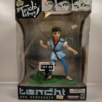 Tenchi Muyo Masaki and Spaceship Light-up Toy Figure PIONEER EQUITY LICENSED NEW