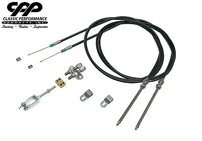 Cpp Universal Emergency Parking Brake Cable Complete Kit