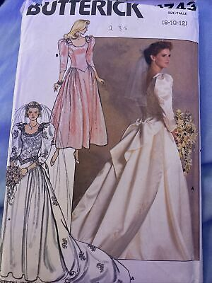 Butterick Ladies Sewing Pattern 4131 Wedding Dress Bridal Bodices /& Skirts Sizes 12-16