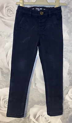 Boys Age 2-3 Years - Next Navy Chino Trousers