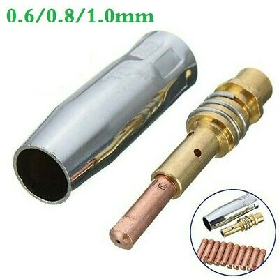 MB15 Mig Consommables Set Contact Pointes Enveloppe Becs Support Rechange Pièces