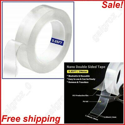 Adhesive Heavy Duty Mounting Alien Tape Locks Anything on Surface Without Screws