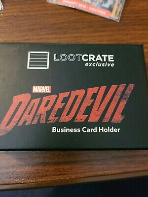 Marvel/'s Daredevil Business Card Holder Nelson and Murdock Loot Crate