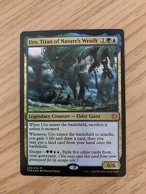 Titan of Nature/'s Wrath Prerelease: Theros Beyond Death Uro