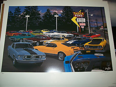 """old Frontier Gas Station Ford Mustangs /& ponies! /""""Ponies Night Out/"""""""