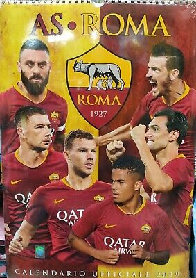 Calendario Ufficiale AS Roma 2019