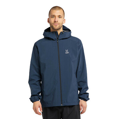 Yellow Sports Outdoors Waterproof Haglofs Mens L.I.M Comp Jacket Top