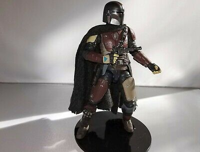 """The Mandalorian Custom Wired cape for Star Wars Black Series SHF 1//12 6/"""" Figures"""