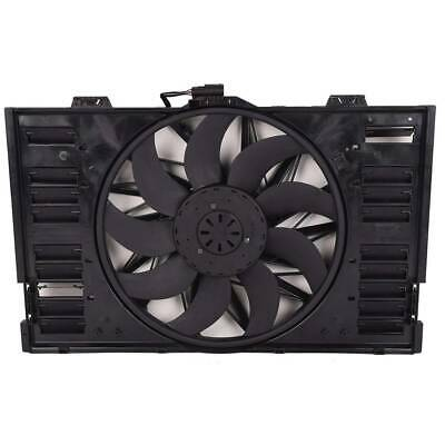 PO3115103 OE Style Radiator Cooling Fan Assembly Replacement for Porsche Panamera 3.6L 4.8L 10-16