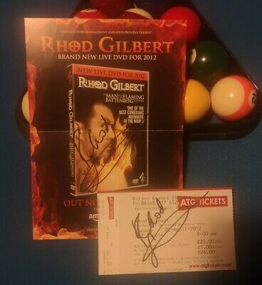 CONCERT SIGNED BY FOUR BAND MEMBERS THE FUREYS THEATRE LEAFLET