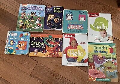 Lot of 8 Story Time Books for Kids/Toddlers/Daycare Child MIX Assorted Bundle