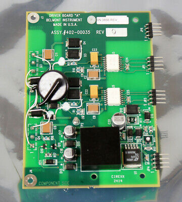Belmont Instruments Driver Board A 402-00035 for FMS-2000 Rapid Infuser