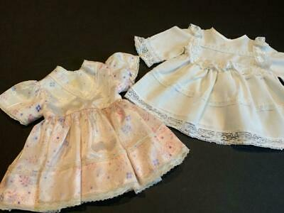 """SSO DOLL CLOTHES YELLOW FLANNEL SLEEPER /& CAP SET for VINTAGE 8/"""" GINNETTE BABY"""