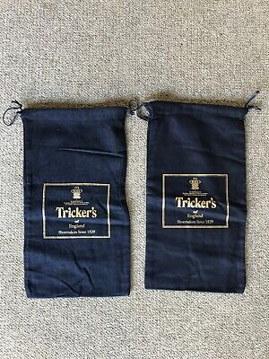 New Tricker's Shoe Bags - Brushed Cotton