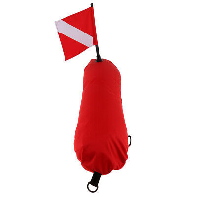Safety Diver Down Flag /& Float Buoy for Scuba Diving Spearfishing Snorkeling