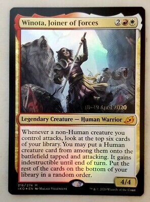 Joiner of Forces x1 1x Extended Art Ikoria NM MTG Winota