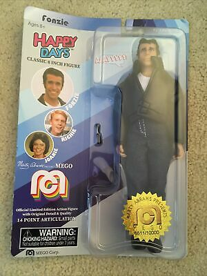 New Sealed Target Exclusive MEGO Marty Abrams Figure Happy Days Fonzie The Fonz