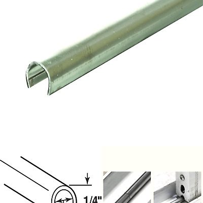 x 1//4 in 3//16 x 4Ft 4 Prime-Line Products D 1579-C Track Repair Cap Stainless Steel 2 Pieces