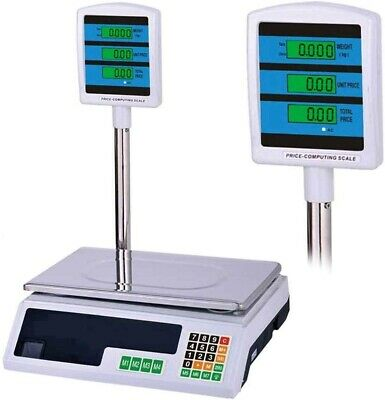 Scale Electronics Digital 88.2lbs Front Retro Professional Display Vertical