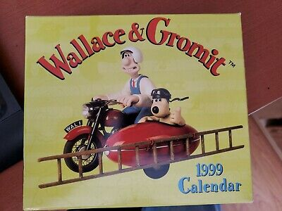RARE WALLACE AND GROMIT Resin Frame Sidecar MINT FRANCE