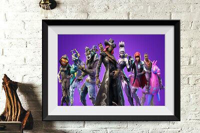 Game Fornite Poster Printed on Photographic Paper  Kids Room Home Art Decor 41