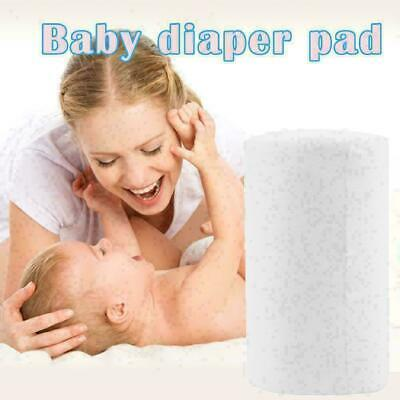 100 Sheets Baby Nappy Cloth Flushable Biodegradable Hot Liners Bamboo N4R4. N9D5