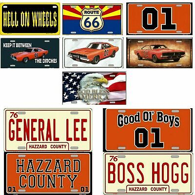 "11/"" DUKES OF HAZZARD General Lee wood sign pop ART Wood Vtg style Sign"