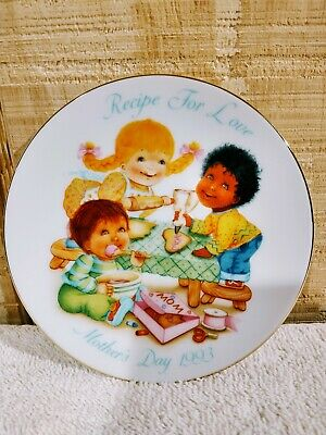 Avon Mothers Day Collector Plate 1993Recipe for Love