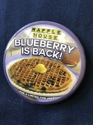 Waffle House Pin Blueberry Is Back Preowned