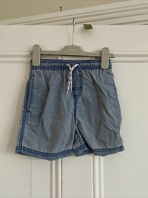 Boys Light Blue Swim Shorts From Next Age 5 Years