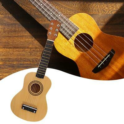 Wood Acoustic Guitar Pick Strings for Children Beginners Practice Gifts