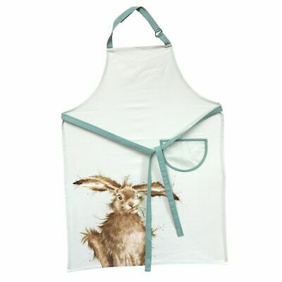 Wrendale Hare Cotton Apron - Green