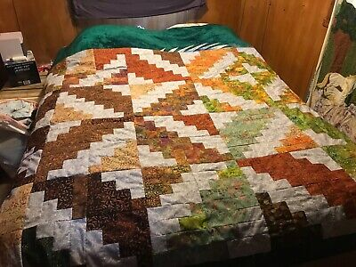 Quilt made from scratch to order, ie size and color choices available