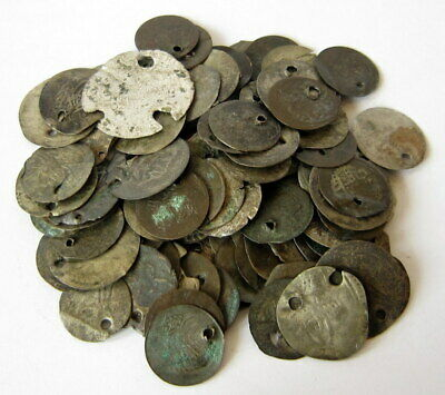 NICE VARIETY OF ISLAMIC/TURKISH SILVER MIX(LOW GRADE)102 pcs. COINS in LOT # 51A
