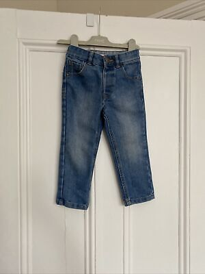 Boys Light Blue Jeans From George Age 2-3 Years