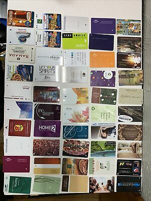 *HOTEL ROOM KEY CARDS*  LOT OF Fifty. 50. Used.   2