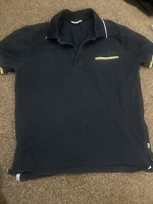 Hugo boss boys Black Polo Shirt age 9- 10 Years