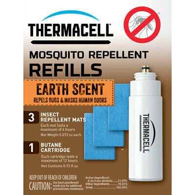 Thermacell E1  Refill Single Pack 12 Hours Earth Scent<(Pp)