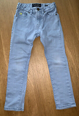 Gorgeous Boy's Cotton Designer Jeans.. By Scotch Shrunk & Soda Age 6 - LOOK! 👀!