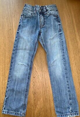 Lovely Boy's Cotton Skinny Style Jeans.. By Next Age 6 years - LOOK! 👀